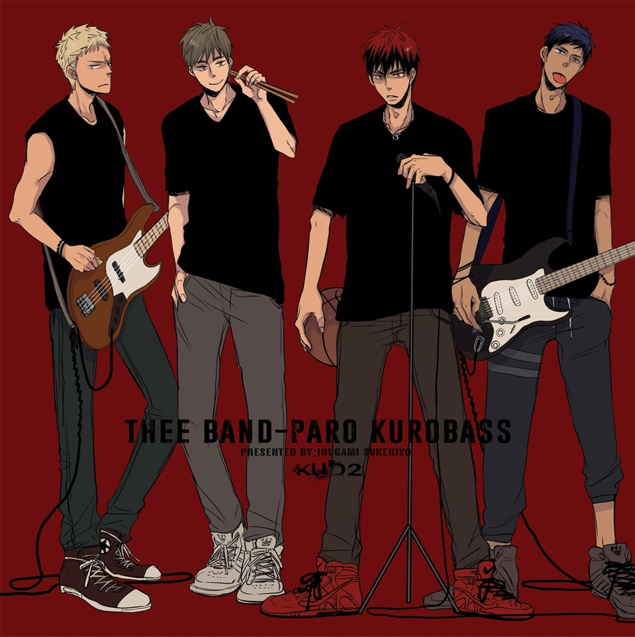 THEE BAND-PARO KUROBASS