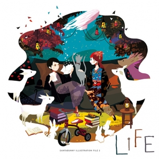LIFE -SANTABUNNY ILLUSTRATION FILE -