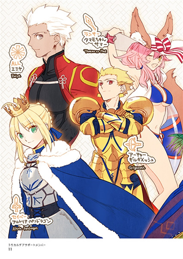 Fate Illustration Book