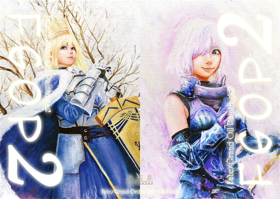 Fate/Grand Oil Paintings2