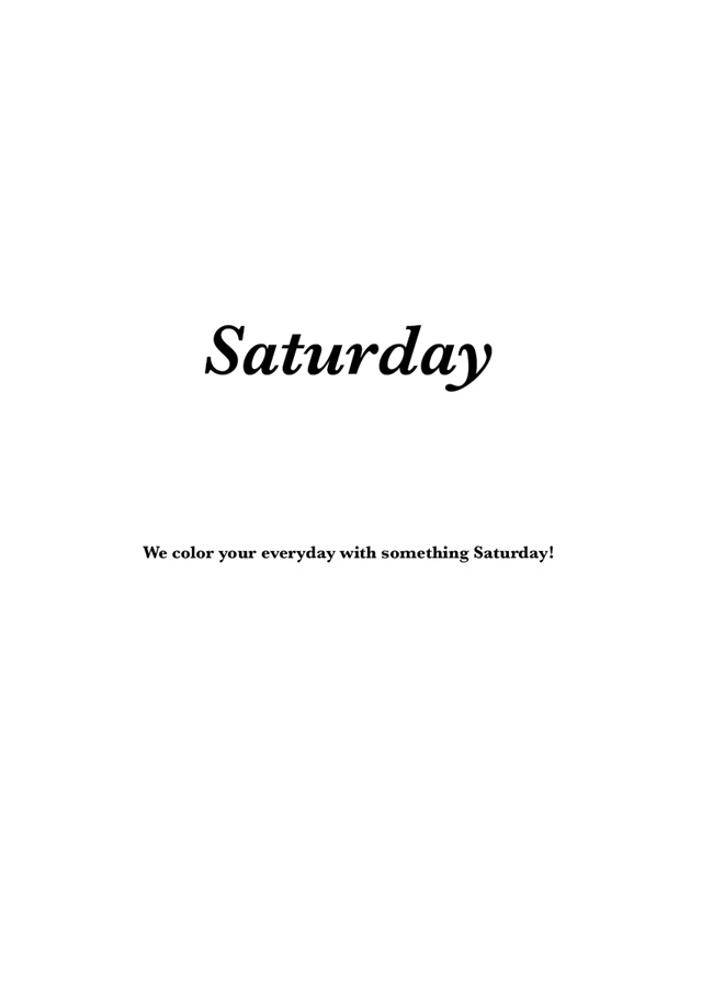 Saturday -Wrong Answers-