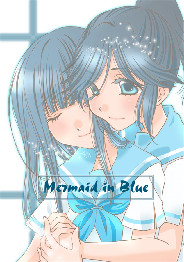 Mermaid in Blue