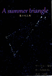 A summer triangle 夏の大三角