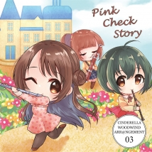 Cinderella Woodwind Arrangement 03 Pink Check Story