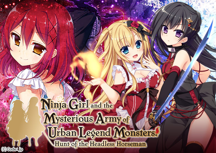Ninja Girl and the Mysterious Army of Urban Legend Monsters! Hunt of the Headless Horseman