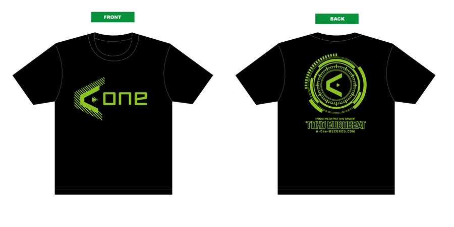 A-One 2016Tシャツ(黒緑) Mサイズ