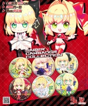 Saber Canbadge Collection 6種類