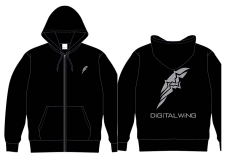 DiGiTAL WiNG OFFiCiAL パーカー 黒 L