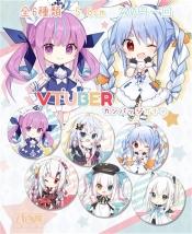 Vtuber缶バッジコレクション Ver.2 6種類
