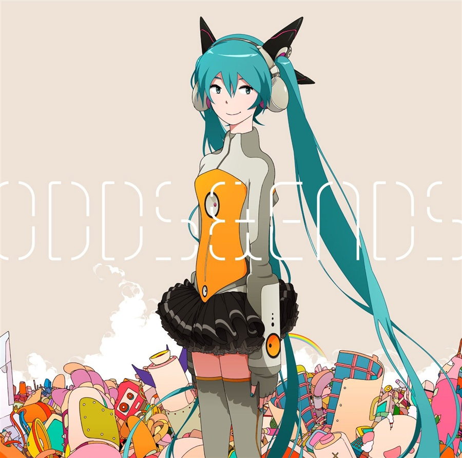 初音ミク-Project DIVA- f OPテーマ「ODDS&ENDS/Sky of Beginning」通常盤