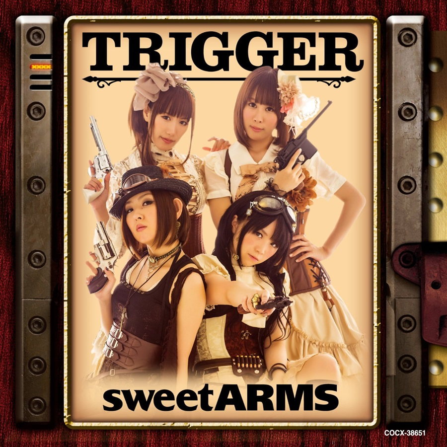 sweet ARMS 1st アルバム 「sweet ARMS」 通常盤