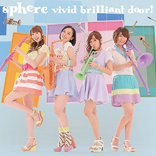 電波教師 OPテーマ「vivid brilliant door!」 通常盤
