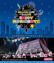 THE IDOLM@STER MILLION LIVE! 2ndLIVE ENJOY H@RMONY!! LIVE Blu-ray DAY1