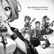 Tokyo 7th シスターズ The QUEEN of PURPLE 1stシングル「TRIGGER/Fire and Rose」 通常盤