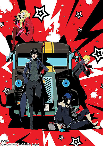 PERSONA5 The Animation - THE DAY BREAKERS - DVD 完全生産限定版