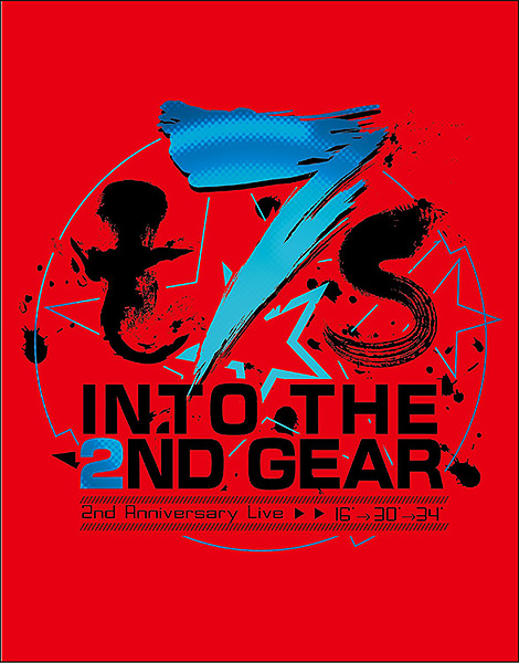Tokyo 7th シスターズ t7s 2nd Anniversary Live 16'→30'→34'-INTO THE 2ND GEAR- BD 通常版