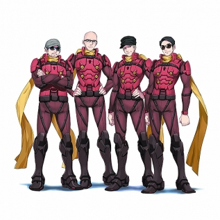 CYBORG 009 CALL OF JUSTICE OPテーマ「A.I. am Human」 DVD付