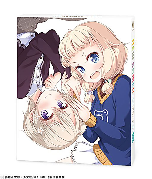 NEW GAME!! Rank.3 DVD