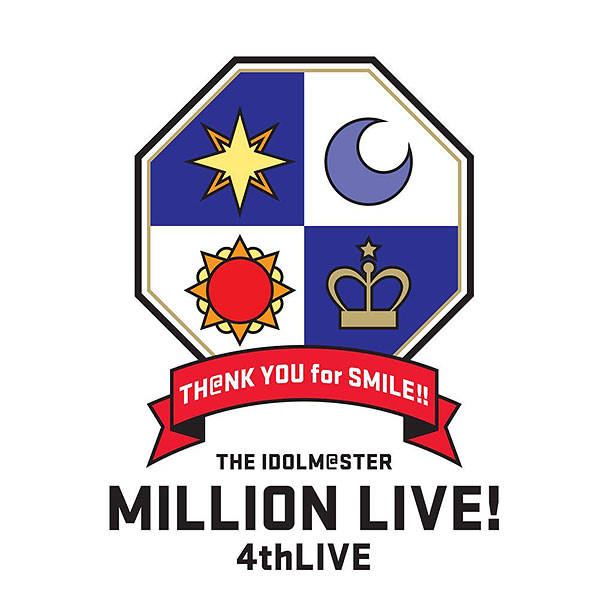 THE IDOLM@STER MILLION LIVE! 4thLIVE TH@NK YOU for SMILE! LIVE Blu-ray COMPLETE THE@TER【早期予約特典付き】
