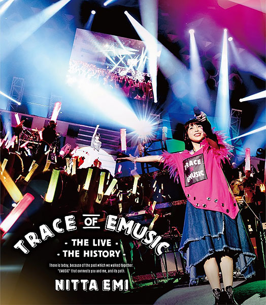 新田恵海 LIVE「Trace of EMUSIC ~THE LIVE・THE HISTORY~ 」 BD 通常盤