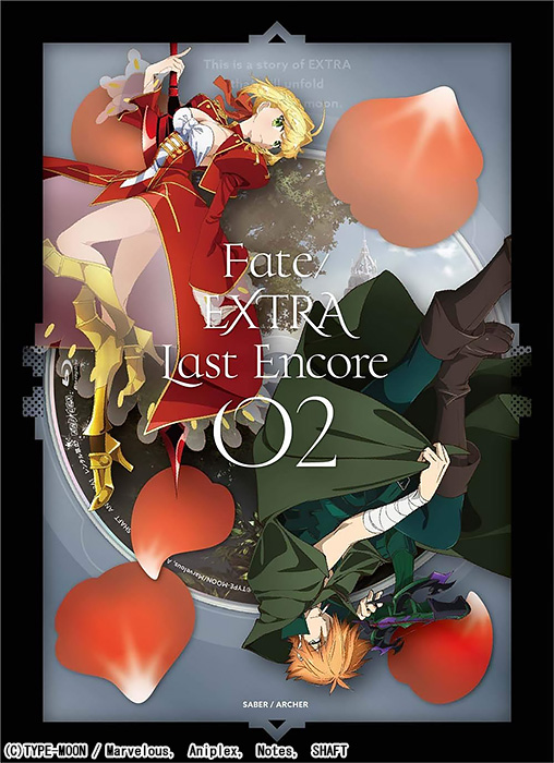 Fate/EXTRA Last Encore 2 BD 完全生産限定版
