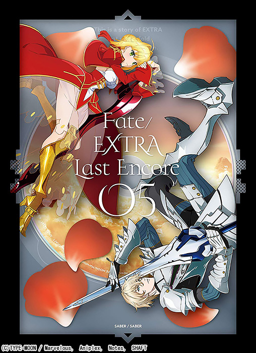 Fate/EXTRA Last Encore 5 DVD 完全生産限定版