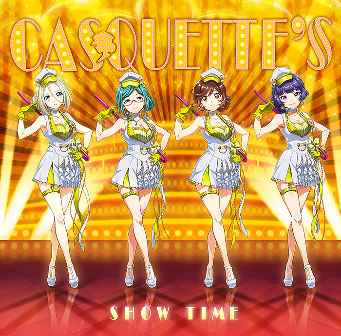 Tokyo 7th シスターズ CASQUETTE'S デビューシングル「SHOW TIME」 通常盤