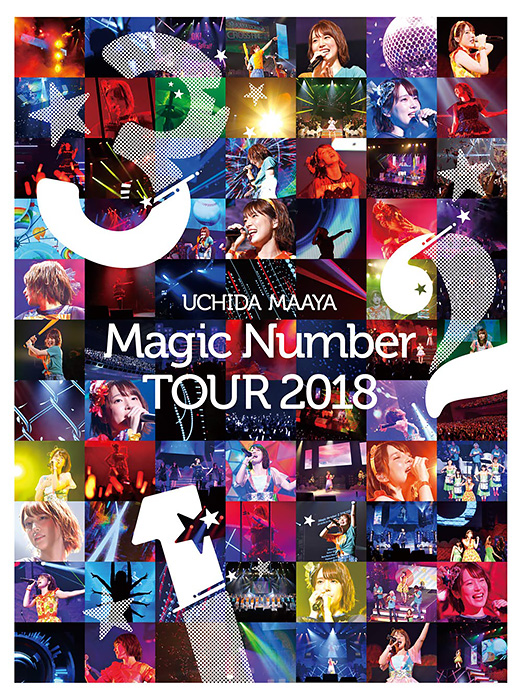 UCHIDA MAAYA「Magic Number」TOUR 2018 DVD