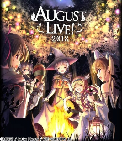 AUGUST LIVE! 2018 Blu-ray & DLCard