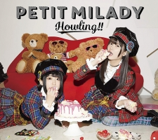 petit milady 5thアルバム「Howling!!」 BD付初回限定盤B