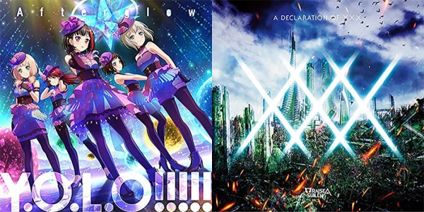 BanG Dream! 「Y.O.L.O!!!!!」「A DECLARATION OF ×××」 通常盤 同時購入セット