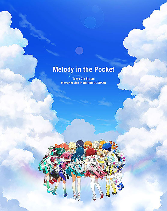 "Tokyo 7th Sisters Memorial Live in NIPPON BUDOKAN ""Melody in the Pocket"" BD 通常版"