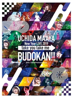UCHIDA MAAYA New Year LIVE 2019 take you take me BUDOKAN!! BD