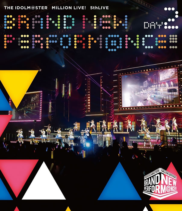 THE IDOLM@STER MILLION LIVE! 5th LIVE BRAND NEW PERFORM@NCE!!! LIVE Blu-ray DAY2