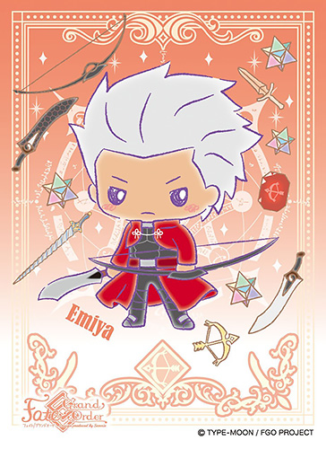 キャラクタースリーブ Fate/Grand Order Design produced by Sanrio エミヤ (EN-531)