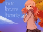 blute became humanity