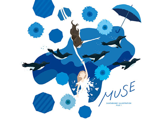 「MUSE」SANTABUNNY ILLUSTRATION FILE l
