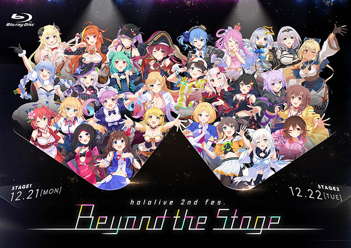 hololive 2nd fes. Beyond the Stage BD