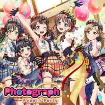 BanG Dream! バンドリ! Poppin'Party「Photograph」Blu-ray付生産限定盤