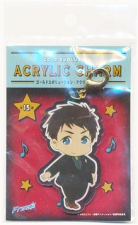 【中古・未開封】Free! -Dive to the Future- GOLD EVOLUTION アクリルチャーム 山崎宗介